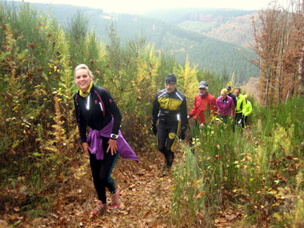Ardennen Trainings Weekend 'Groepsaccommodatie Le Mont Saint Jacques'